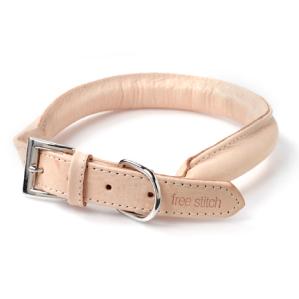 犬の首輪:ヌメ革ソフトカラー